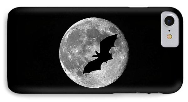 Bat Moon Phone Case by Al Powell Photography USA