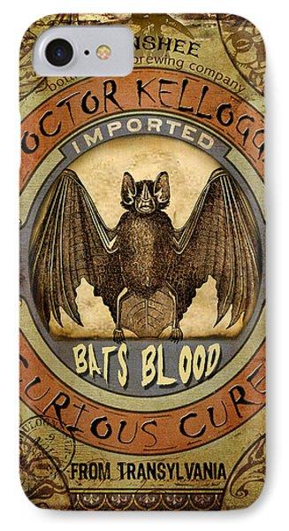Bats Blood IPhone Case