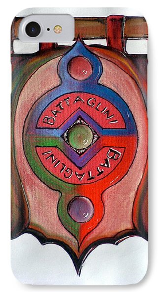 Battaglini Family Crest IPhone Case by Ahonu