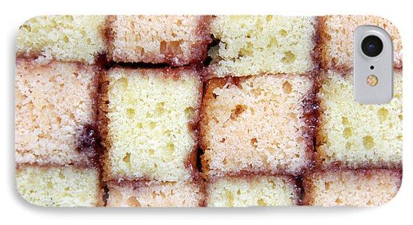 Battenburg Cake Phone Case by Jane Rix