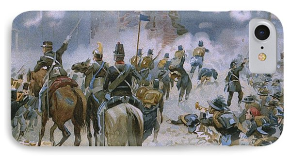 Battle Of Solferino And San Martino Phone Case by Italian School
