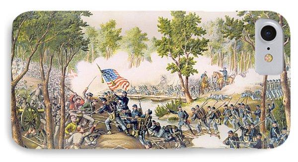 Battle Of Spottsylvania May 1864 Phone Case by American School