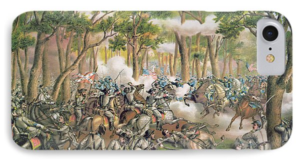 Battle Of The Wilderness May 1864 Phone Case by American School