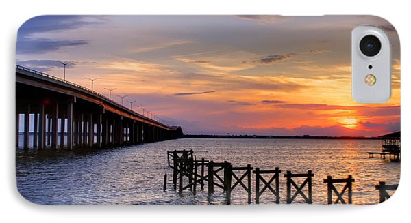 Bay St. Louis Sunset Phone Case by Brian Wright