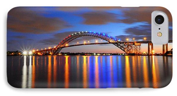 Bayonne Bridge Phone Case by Paul Ward