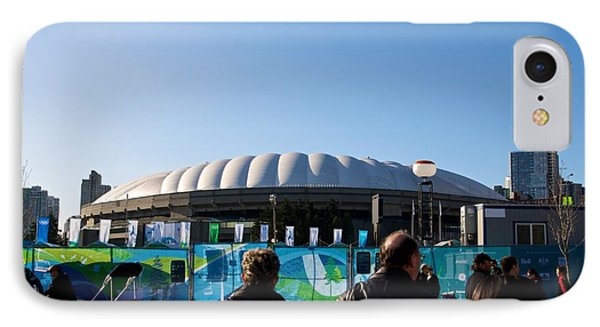 IPhone Case featuring the photograph Bc Place by JM Photography