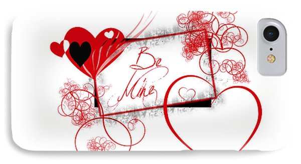 Be Mine IPhone Case by Darren Fisher