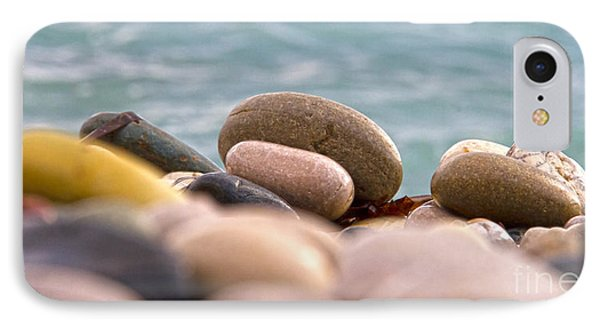 Beach And Stones IPhone Case by Stelios Kleanthous