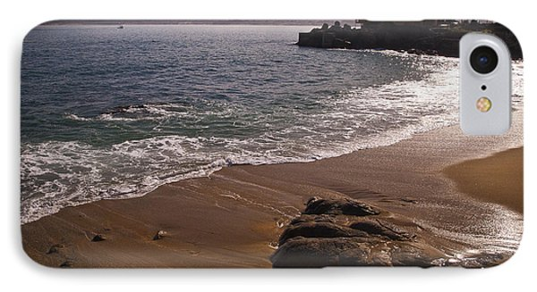 Beach At Monteray Bay IPhone Case by Darcy Michaelchuk