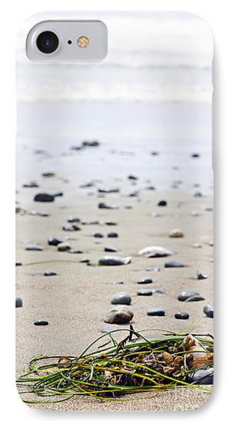 Beach Detail On Pacific Ocean Coast Of Canada IPhone Case by Elena Elisseeva