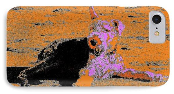 Beach Dog 8 Phone Case by Nina Kaye