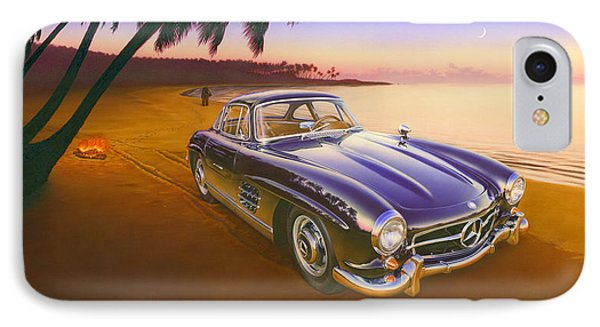 Beach Mercedes Phone Case by Andrew Farley