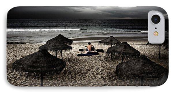 Beach Minstrel Phone Case by Carlos Caetano
