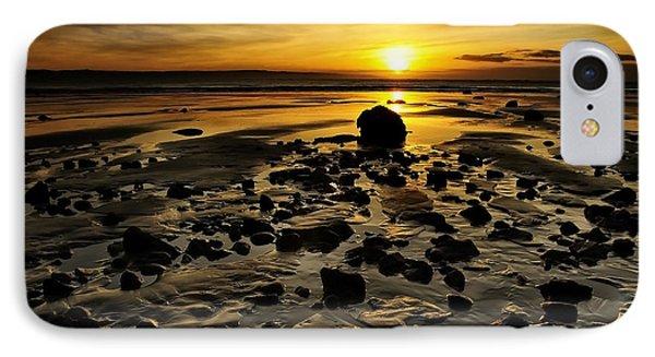 Beach Morning Glory Phone Case by Svetlana Sewell