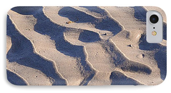 Beach Sand At Sunset Phone Case by Phill Petrovic