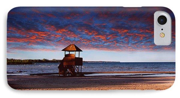 Beach Sunset Phone Case by Ms Judi