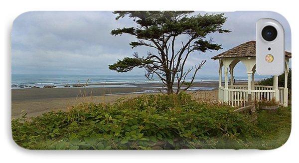 Beachside Gazebo Phone Case by Heidi Smith
