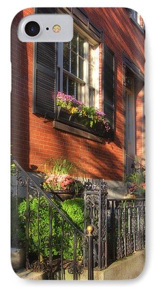 Beacon Hill Sidewalks Phone Case by Joann Vitali