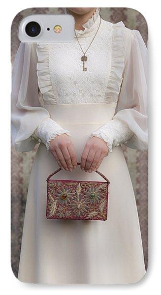 Beaded Handbag Phone Case by Joana Kruse