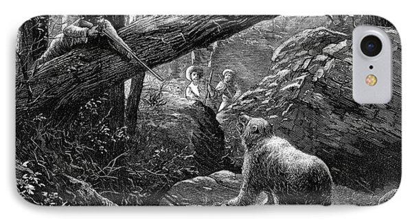 Bear Hunt, 1876 Phone Case by Granger