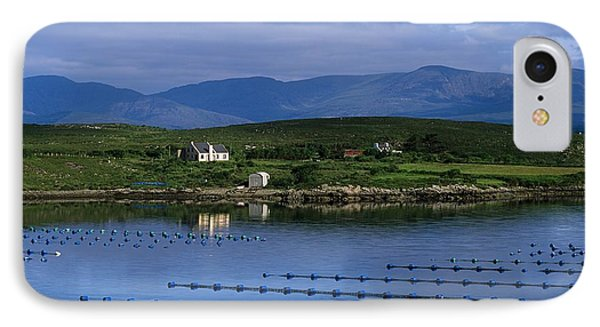 Beara, Co Cork, Ireland Mussel Farm Phone Case by The Irish Image Collection