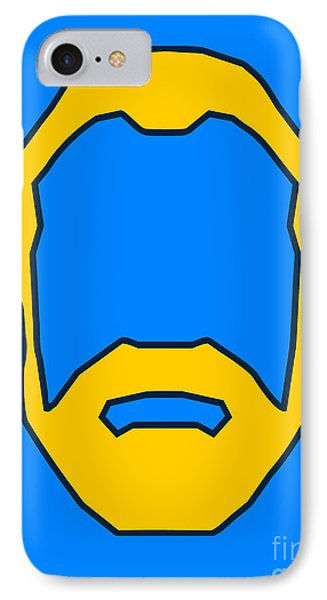 Beard Graphic  IPhone Case
