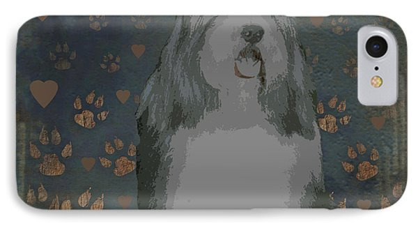 Bearded Collie Phone Case by One Rude Dawg Orcutt