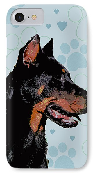 Beauceron Phone Case by One Rude Dawg Orcutt