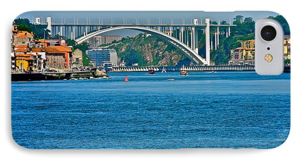 IPhone Case featuring the photograph Beautiful Bridge In Porto by Kirsten Giving