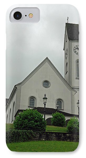 Beautiful Church In The Swiss City Of Lucerne Phone Case by Ashish Agarwal