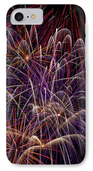 Beautiful Fireworks Phone Case by Garry Gay