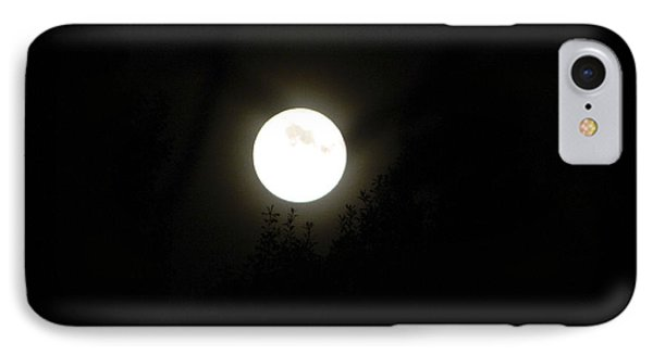 IPhone Case featuring the photograph Beautiful Full Moon by Ester  Rogers