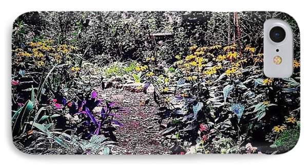 Beautiful Garden Path - New York City IPhone Case