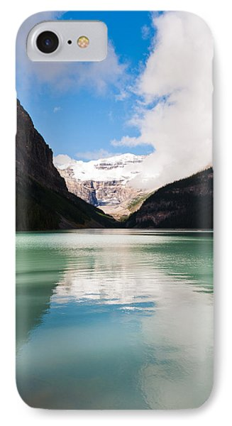 IPhone Case featuring the photograph Beautiful Lake Louise by Cheryl Baxter