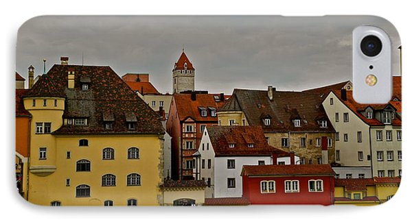 IPhone Case featuring the photograph Beautiful Regensburg by Kirsten Giving