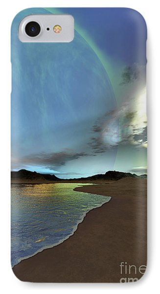 Beautiful Skies Shine Down On This Phone Case by Corey Ford