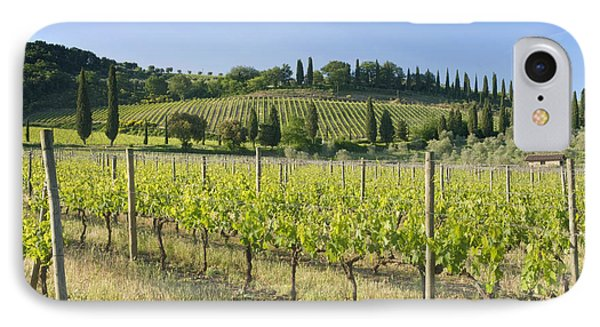 Beautiful Vineyard Phone Case by Rob Tilley