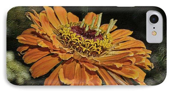 Beauty In Orange Petals IPhone Case by Deborah Benoit