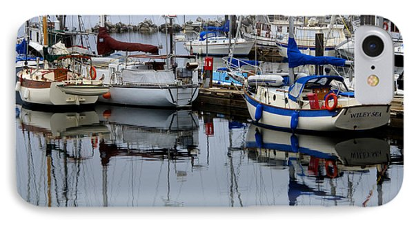 Beauty Of Boats Phone Case by Bob Christopher