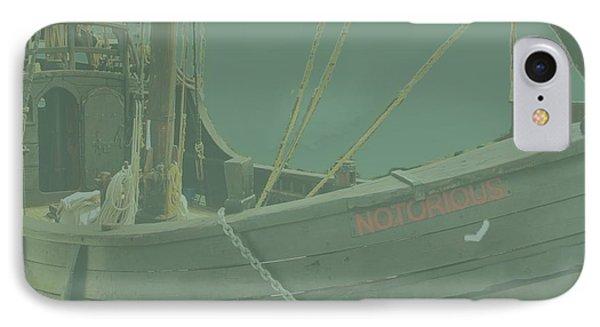Becalmed In A Sea Mist IPhone Case