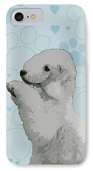 Bedlington Terrier Phone Case by One Rude Dawg Orcutt