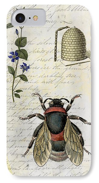Bee Flower Hive  IPhone Case