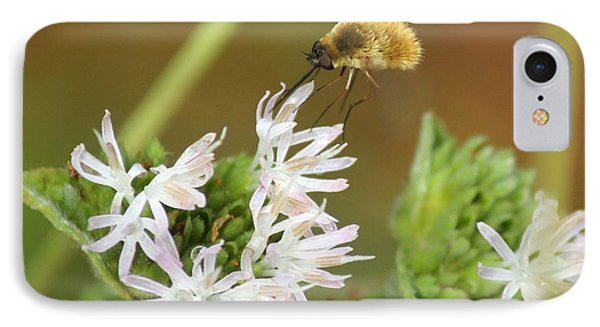 Bee Fly Don't Bother Me IPhone Case by Theresa Willingham