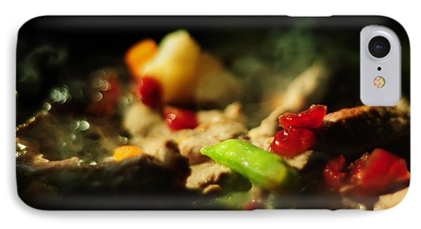 Beef With Vegetables Phone Case by Rebecca Sherman