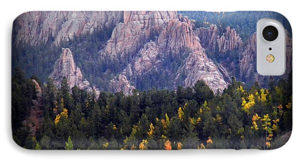 Beginning Of Mountain Fall IPhone Case by Michelle Frizzell-Thompson