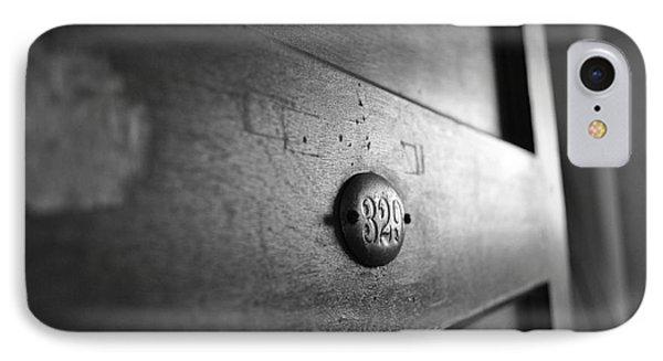 Behind Door No. 329 Phone Case by Luke Moore