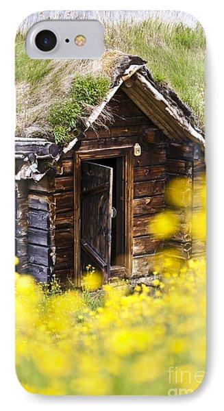 Behind Yellow Flowers Phone Case by Heiko Koehrer-Wagner