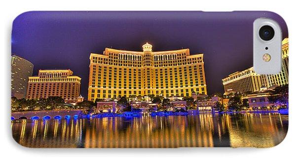 Belagio Las Vegas Phone Case by Nicholas  Grunas