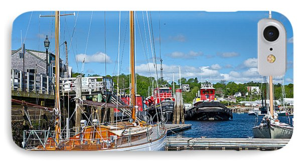 Belfast Harbor Phone Case by Susan Cole Kelly