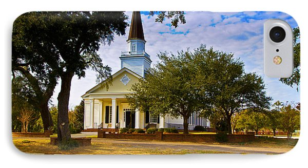 Belin United Methodist Church IPhone Case by Bill Barber